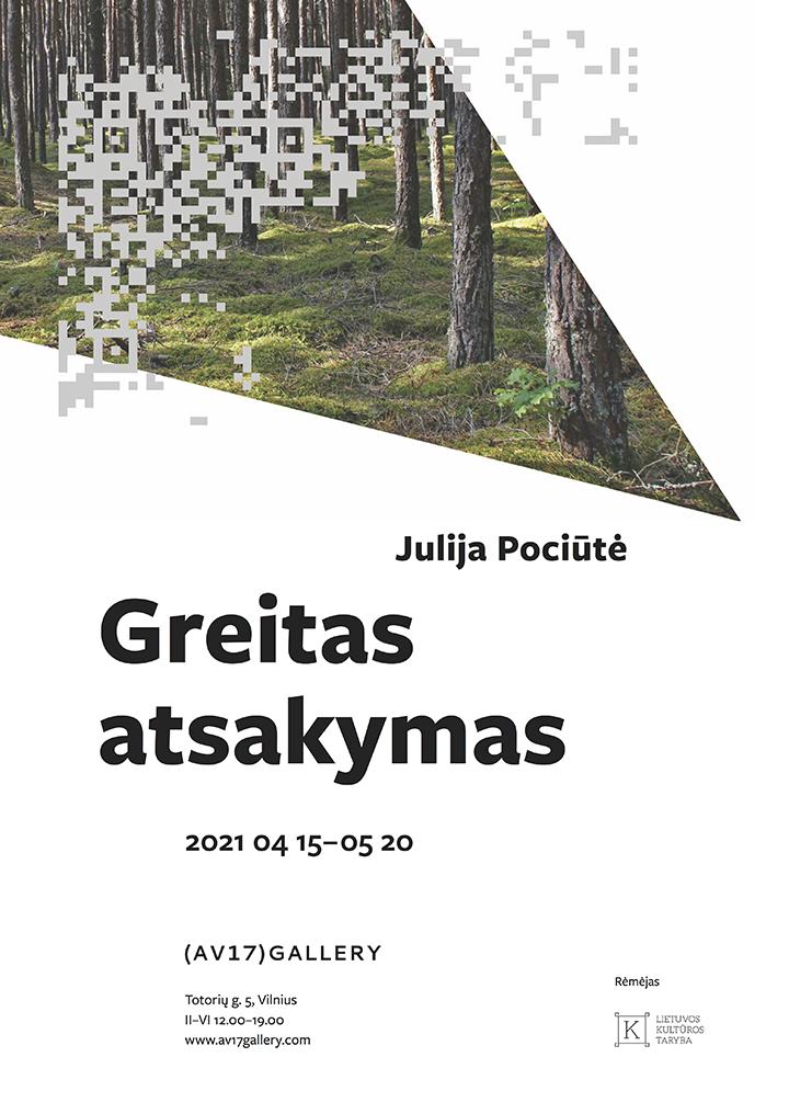 Julija Pociūtė. Greitas atsakymas