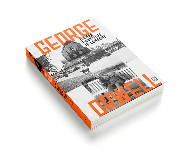 """Perleista pirmoji George'o Orwello knyga """"Dienos Paryžiuje ir Londone"""""""