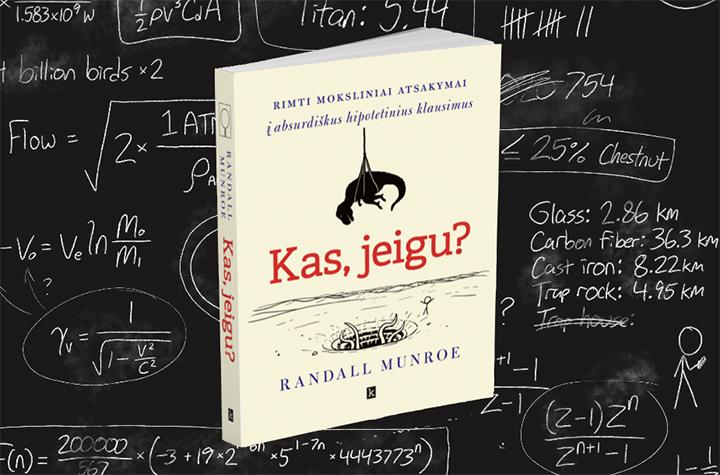 Knyga pažinti mokslą kviečia per absurdiškus klausimus ir šmaikščius atsakymus