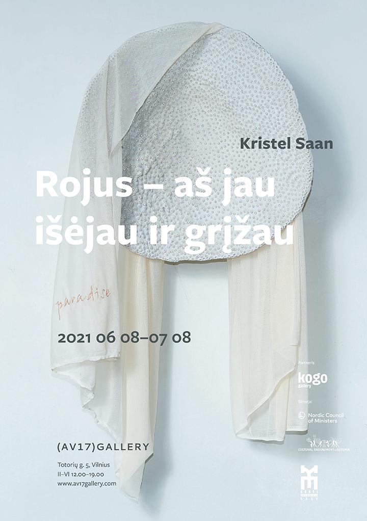 Estų menininkės Kristel Saan parodoje – arklių plaukai, gyvačių odos ir perlai