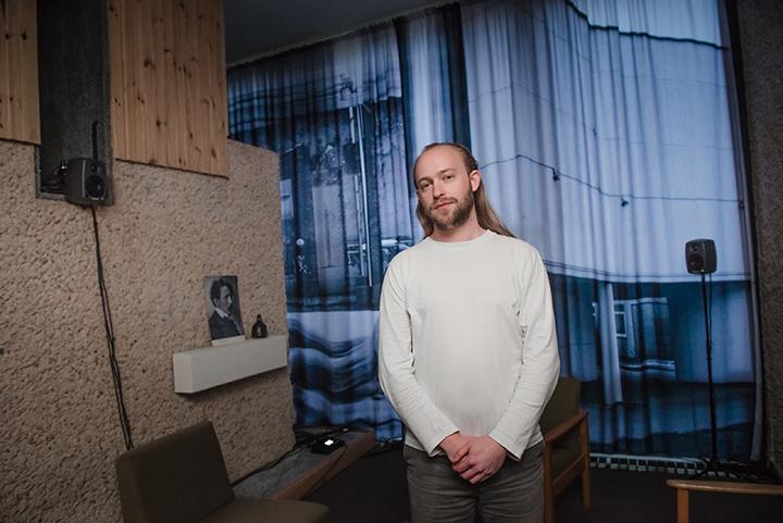 Lietuvoje kūrybą pristatantis menininkas Maarten Brijker